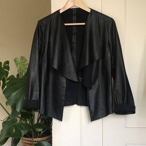Zara Vegan Leather Jacket